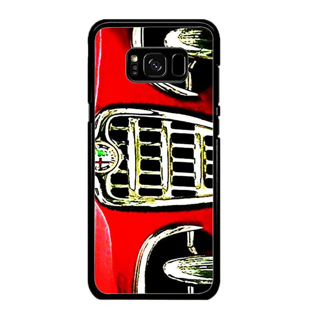 alfa front red A0427 Samsung Galaxy S8 Cover Cases
