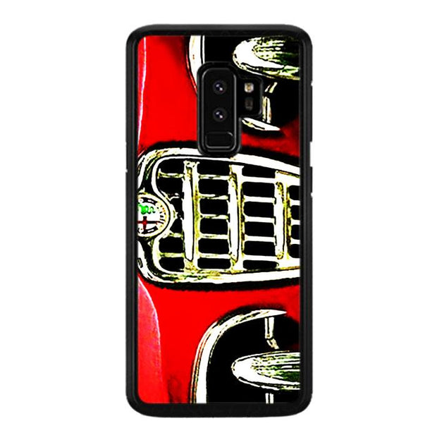 alfa front red A0427 Samsung Galaxy S9 Plus Cover Cases
