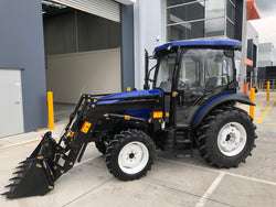 LOVOL M604, 60hp Cabin Tractor with Front End Loader