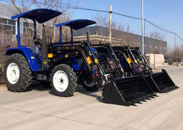 LOVOL M504, 50hp Rops with 4in1 Loader