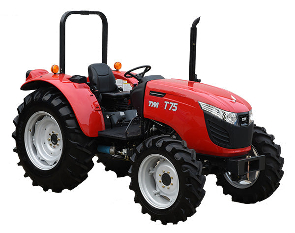TYM T75, 75hp Tractor with Front End Loader