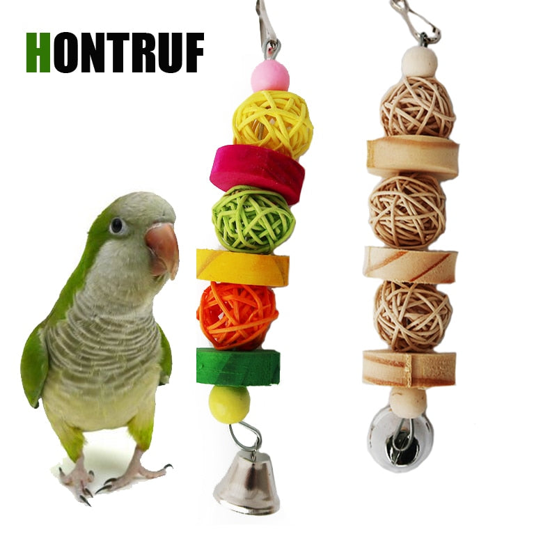 Wooden Bird Toy - Parrottoysplus