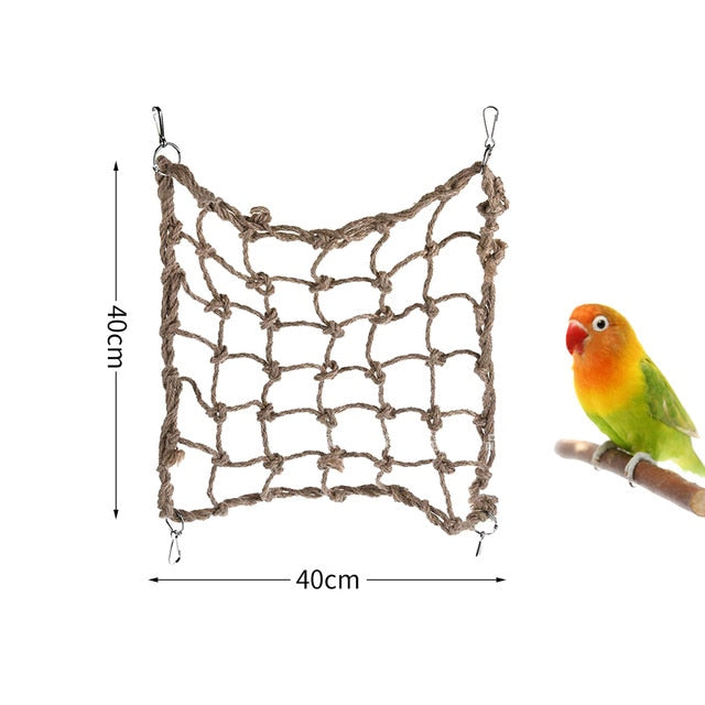 Pet Bird Climbing Nets (Multiple Sizes) - Parrottoysplus