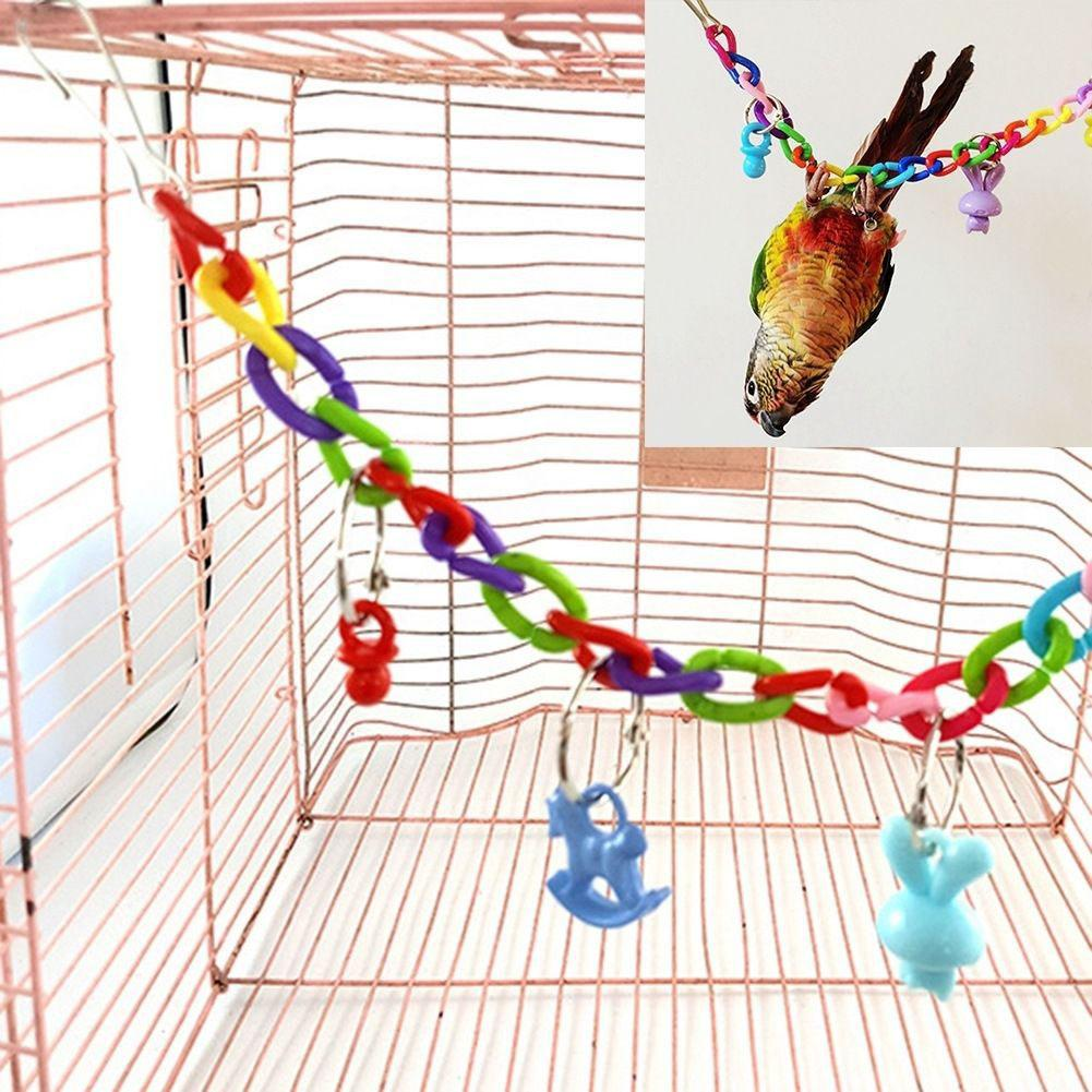 Colorful Bird Swing - Parrottoysplus