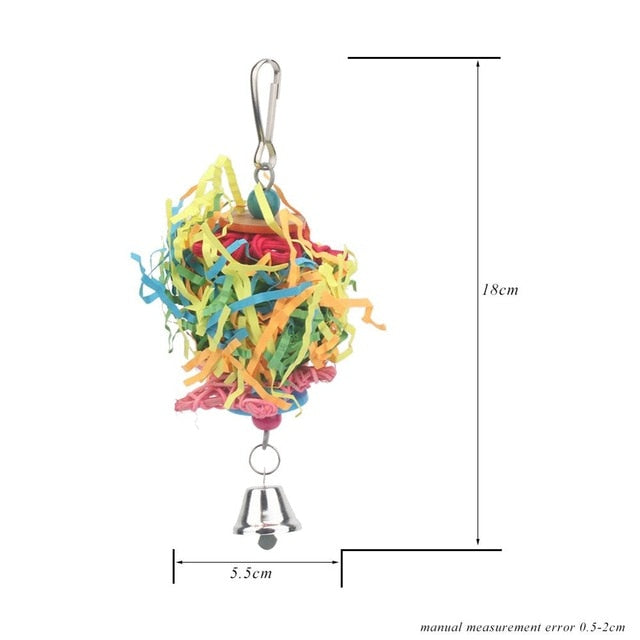 Parrot Chew Toy variety - Parrottoysplus