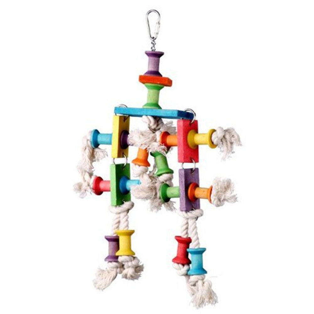 23cm Colorful Bird Toy - Parrottoysplus