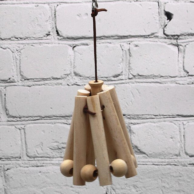 Wooden Rope Toy - Parrottoysplus