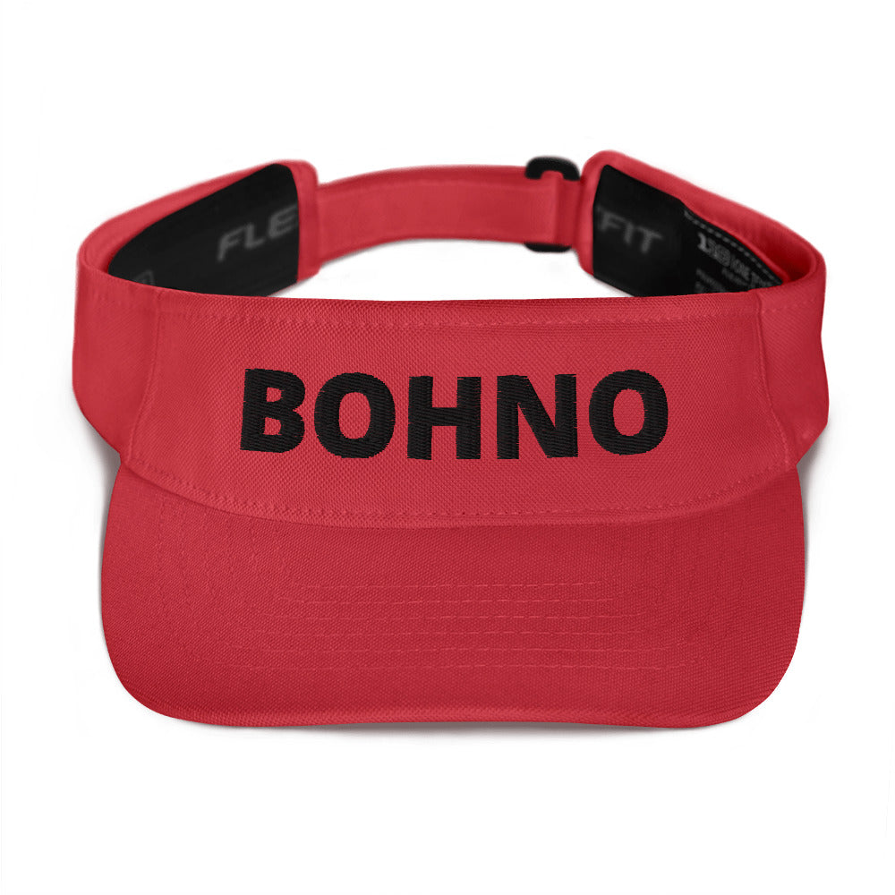 Bohno Visor (Red/Black)