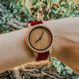Reloj redwoods plane cherry 36mm
