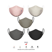 Load image into Gallery viewer, Frio 3ply Reusable Face Mask with SSMMS Filter (5 Pc)