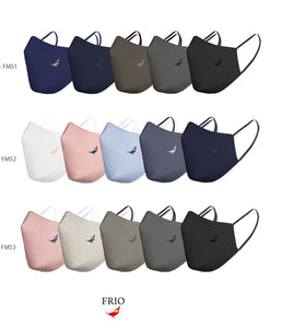 Frio 3ply Reusable Face Mask with SSMMS Filter (5 Pc)