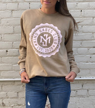 Load image into Gallery viewer, Kind Babes Club Crewneck // Sandstone
