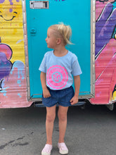 Load image into Gallery viewer, Kind Babes Club // Kids Tee // Light Blue