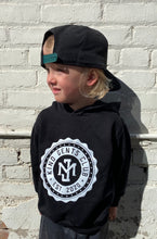 Load image into Gallery viewer, Kind Gents Club // Kids Hoodie  // Black
