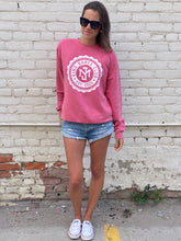 Load image into Gallery viewer, Kind Babes Club Crewneck // Pink
