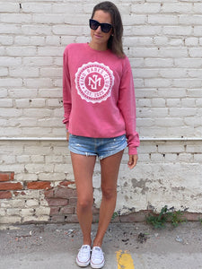 Kind Babes Club Crewneck // Pink