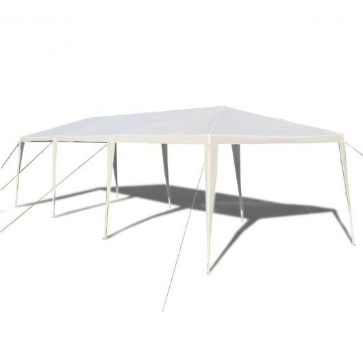 10 x 30 Feet Outdoor Gazebo Waterproof Tent Canopy For Party Family Events