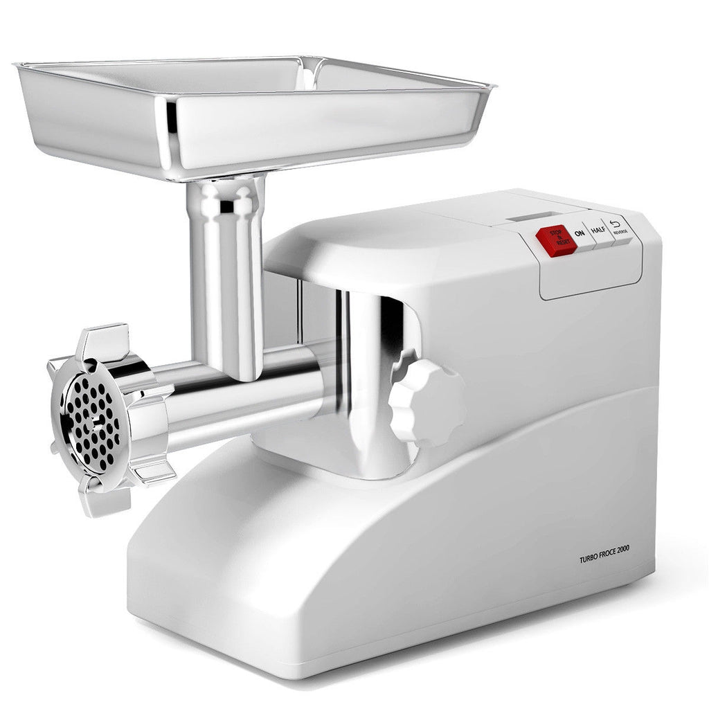 Electric Meat Grinder Powerful 2000W Durable With 3 Different Blades