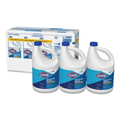 Clorox Germicidal Bleach Clorox Concentrated Germicidal Bleach 3 Packs Per Carton