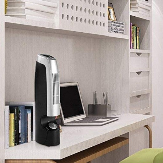 GentleAir Compact Ionic Air Purifier 2-Piece Mini Ionic Air Cleaner Filter
