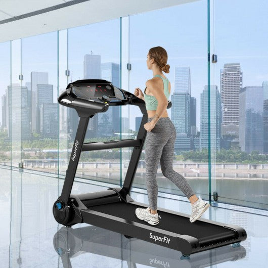 Folding Electric Treadmill 2.25 HP Foldable Electric Treadmill