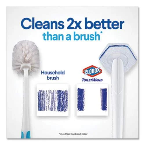 Clorox Toilet Wand Disposable Toilet Cleaning Kit With 6 Refills
