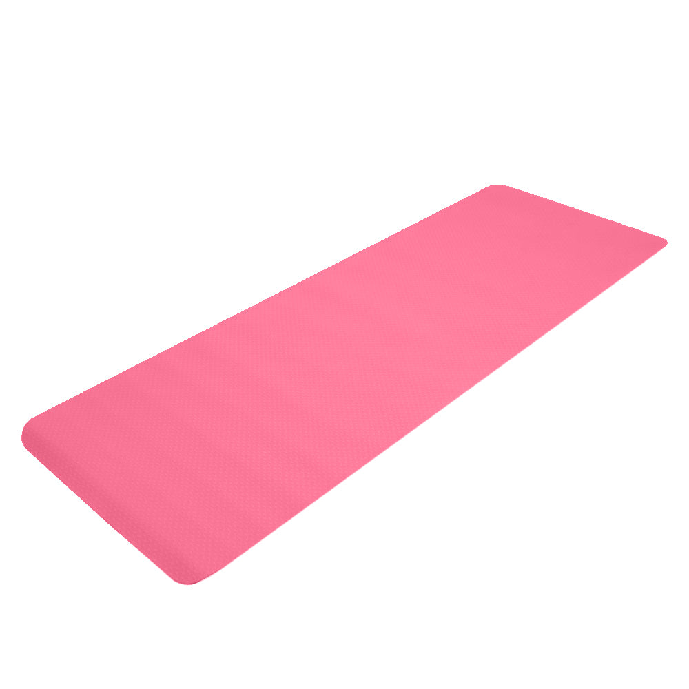 6mm Yoga Mat For Exercise Workout Fitness Non Slip Eco Friendly Exercise Mat
