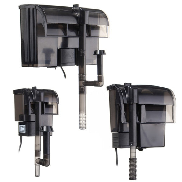 Power Filter Hang-on Aquarium Fish Tank External Hanging