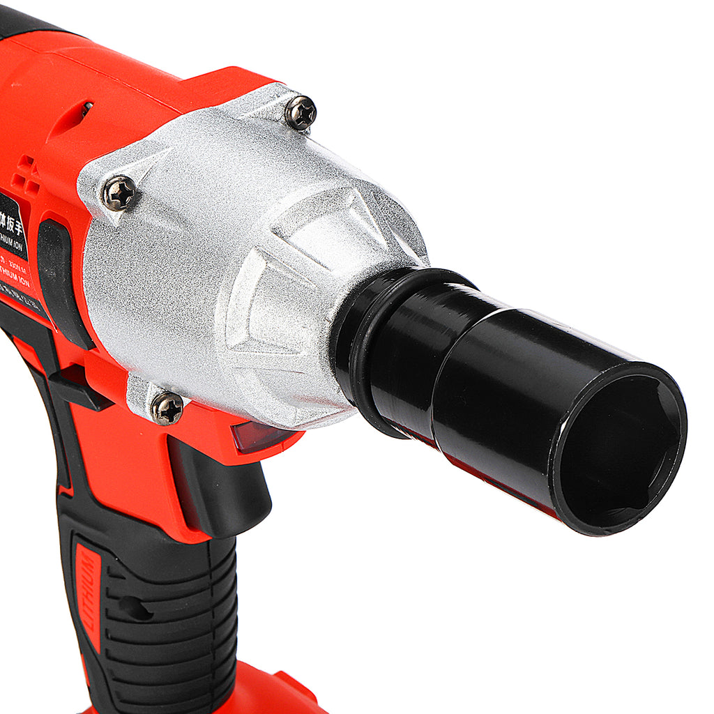 Swhiish™ 21V 330N.M 10Ah Li-ion Battery Impact Wrench Power Electric Wrench Cordless Wrench