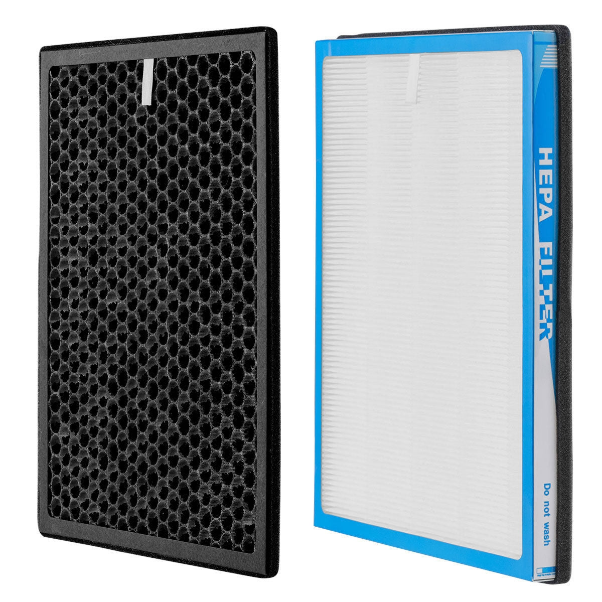 BreezeMate™ Air Purifier With Hepa Air Filter And Activated Carbon Replacement Filter Pack