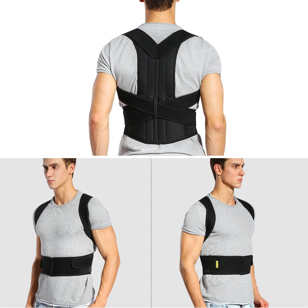 CorBax™ Unisex Back Posture Corrector Adjustable Back Brace For Posture