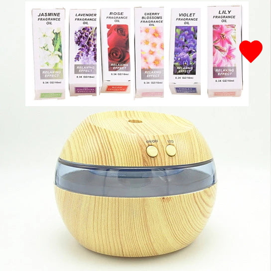HealthyMist™ Essential Oil Diffuser Humidifier Ultrasonic Essential Oil Diffuser With Oils