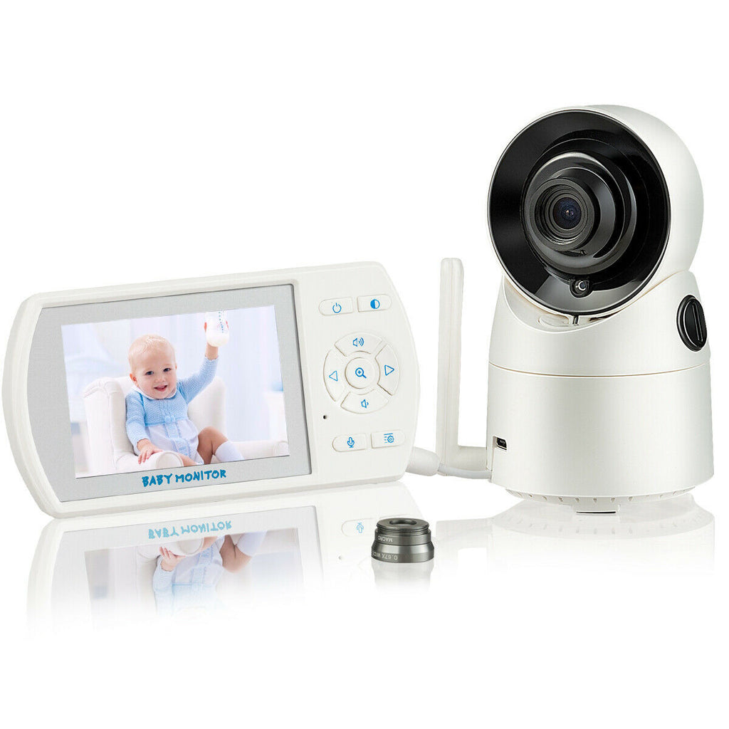 iZeeU™ V2.0 Video Baby Monitor Camera Wireless Baby Monitor With Zoom Lens And Remote Control Camera