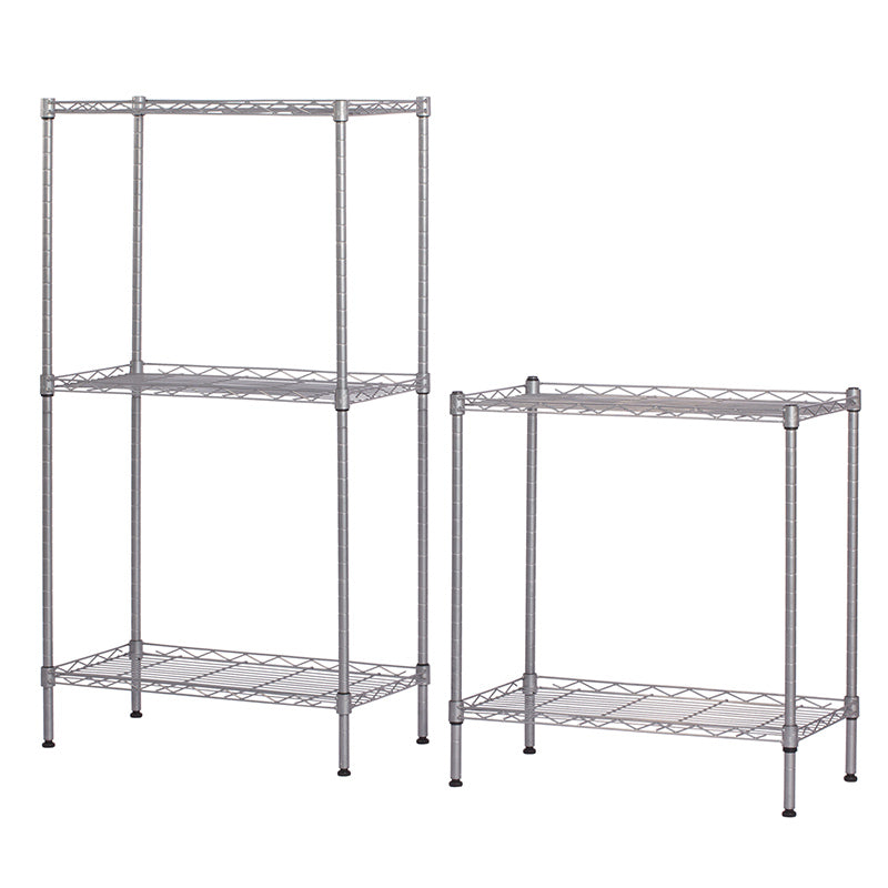 2, 3 or 5 Tier Adjustable Metal Storage Shelf Changeable Metal Shelf Racking Unit
