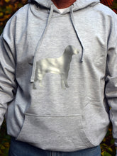 Load image into Gallery viewer, ADULT 4XL Ash Grey Reflective Hoodie - CUSTOMIZE YOUR BREED