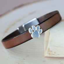 Load image into Gallery viewer, Paw Charm Bracelets (10mm)