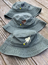 Load image into Gallery viewer, Black, Yellow & Chocolate Labrador Bucket Hats