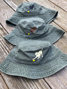 Black, Yellow & Chocolate Labrador Bucket Hats
