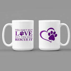 Purple Rescue Coffee Mug