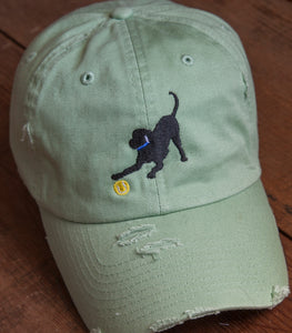 Sage Embroidered Labrador Hats