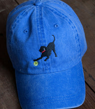 Load image into Gallery viewer, Denim Blue Embroidered Labrador Hats