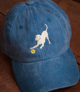 Denim Blue Embroidered Labrador Hats