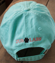 Load image into Gallery viewer, Mint Green Embroidered Labrador Hats