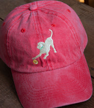 Load image into Gallery viewer, Red Embroidered Labrador Hats