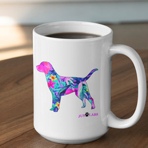 Handmade Ceramic Mug - Colorful LAB