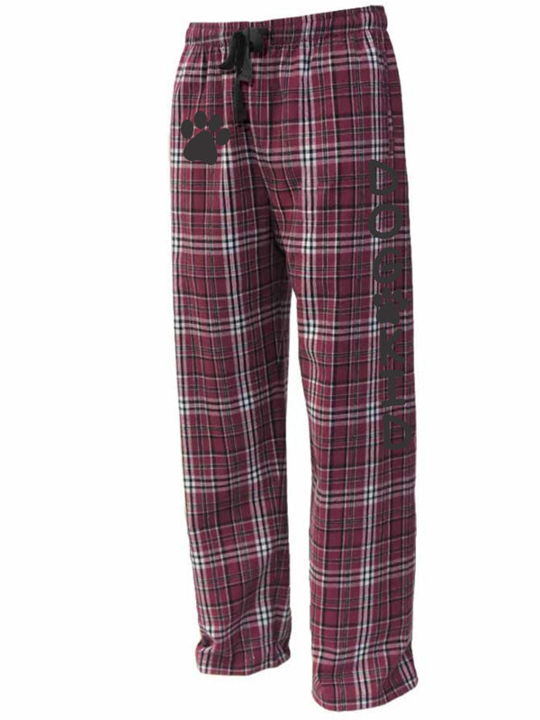 Maroon and White Flannels - DOG KID