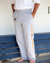 Load image into Gallery viewer, Adult & Youth Pocket Sweatpants w/ Chocolate Lab - Orange Collar