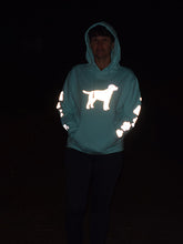Load image into Gallery viewer, ADULT 3XL Mint Reflective Hoodie - CUSTOMIZE YOUR BREED