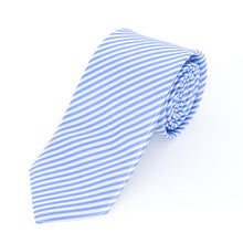 Load image into Gallery viewer, Baby Blue & White Tie