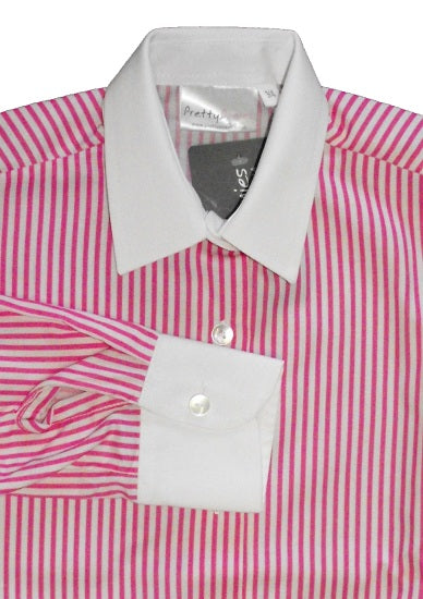 Pink Stripe Shirt